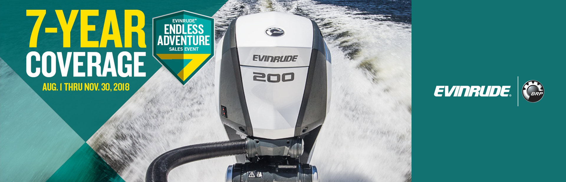 Evinrude: Evinrude® Endless Adventure Sales Event