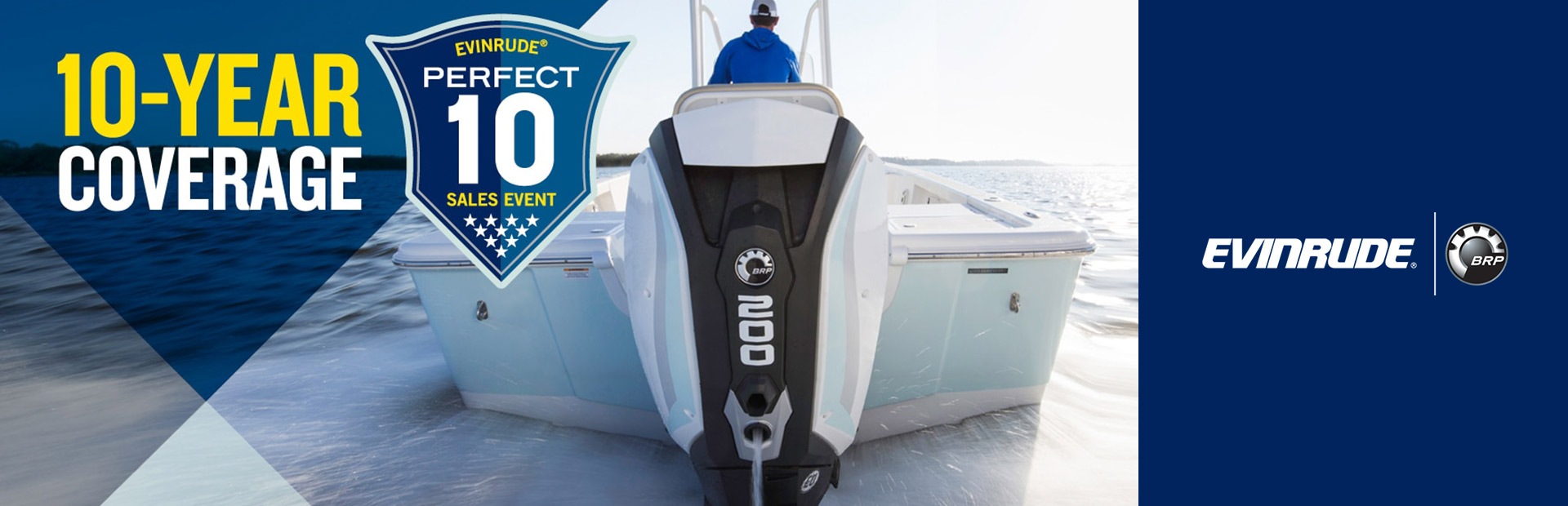 Evinrude: Evinrude® Perfect 10 Sales Event