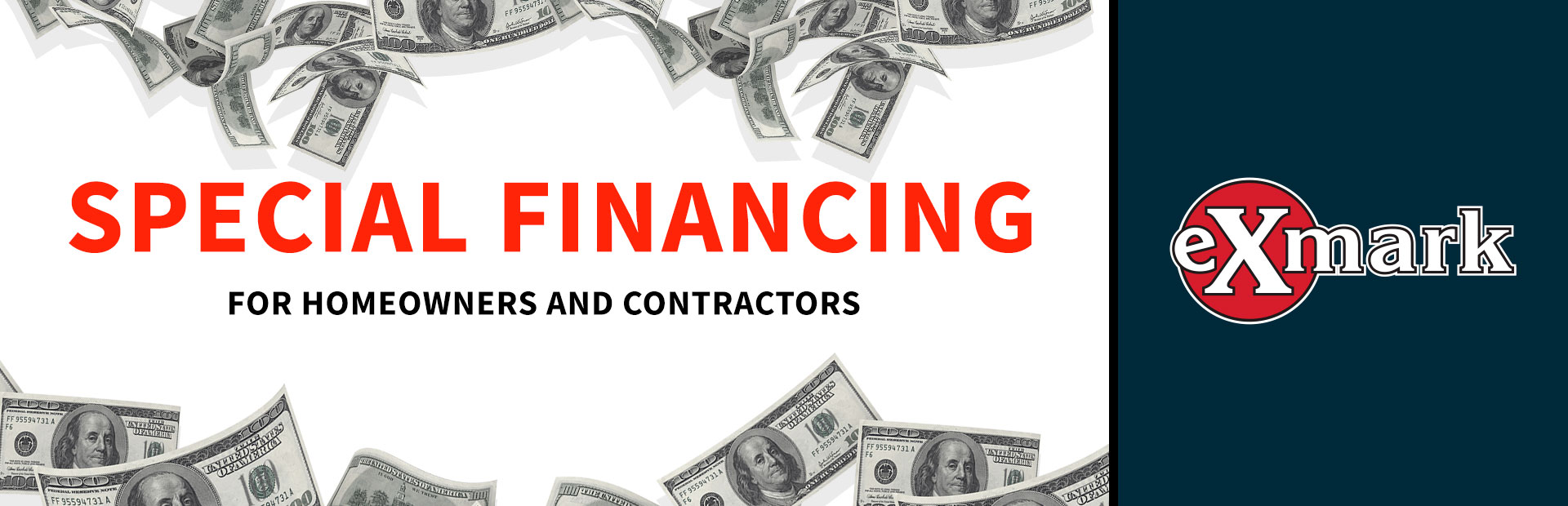 Exmark: Special Financing for Homeowners and Contractors