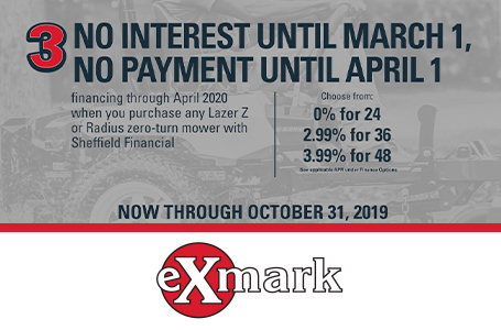 No Interest Until March 1, No Payment Until April