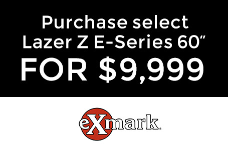 "Purchase Select Lazer Z E-Series 60"" For $9,999"