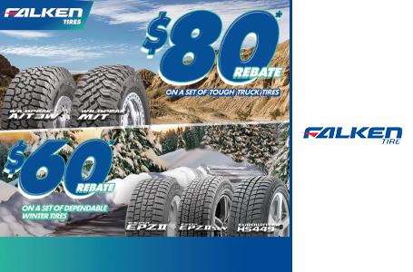 Elrich Tire Automotive Ltd Current Promotion For Falken Winter