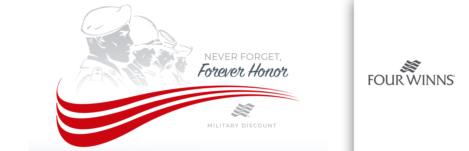 Four Winns: Never Forget, Forever Honor Military Discount
