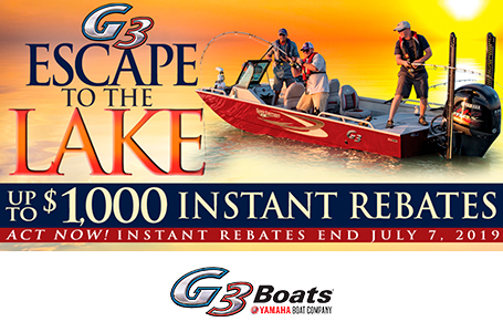 Escape to the Lake Rebates