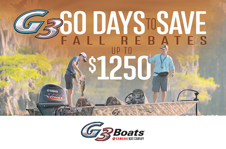 G3 60 Days to Save Fall Rebates
