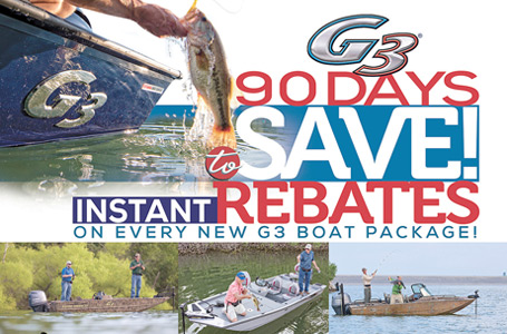G3® 90 Days to Save! Instant Rebates