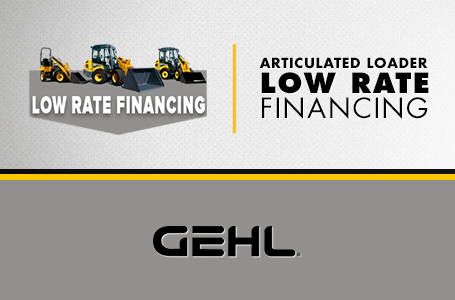 Articulated Loader - Low Rate Financing