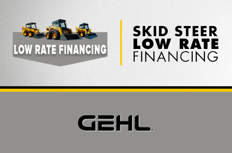 Skid Loader - Low Rate Financing