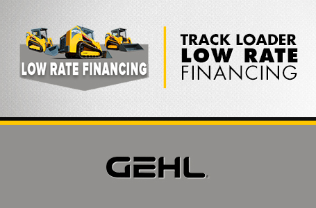 Track Loader - Low Rate Financing