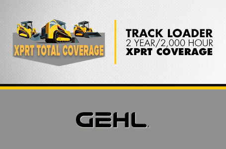 Track Loader - 2 Year / 2,000 Hour XPRT Coverage