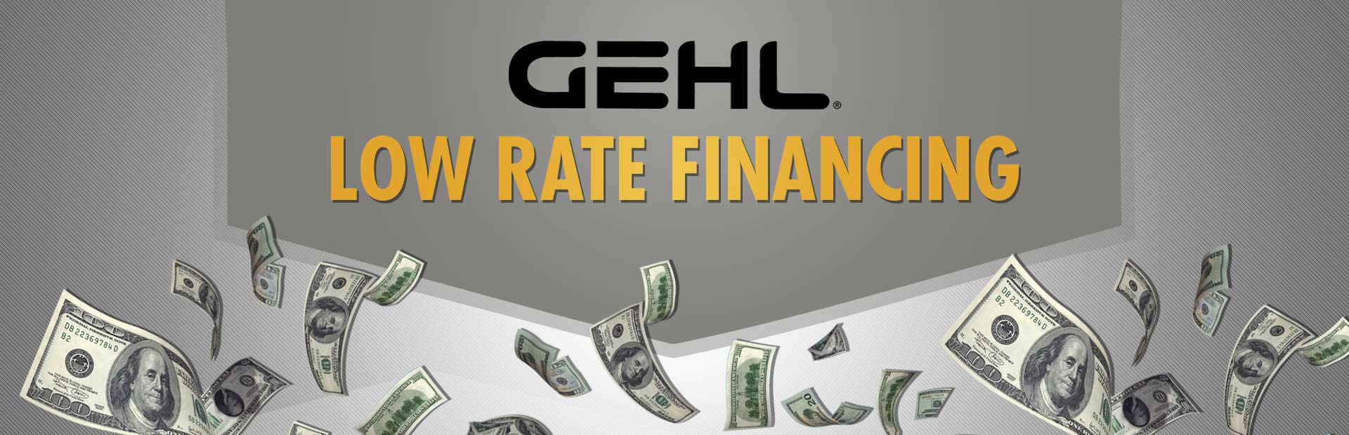 Gehl: Low Rate Financing