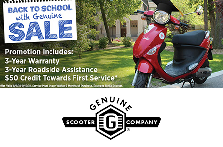 Back to School with Genuine Sale