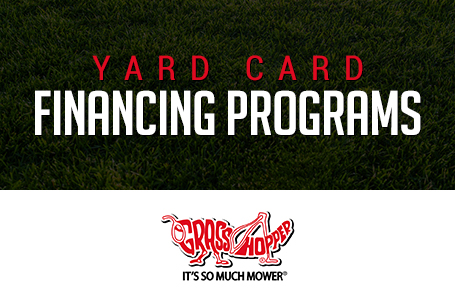 Grasshopper – Yard Card Financing Programs