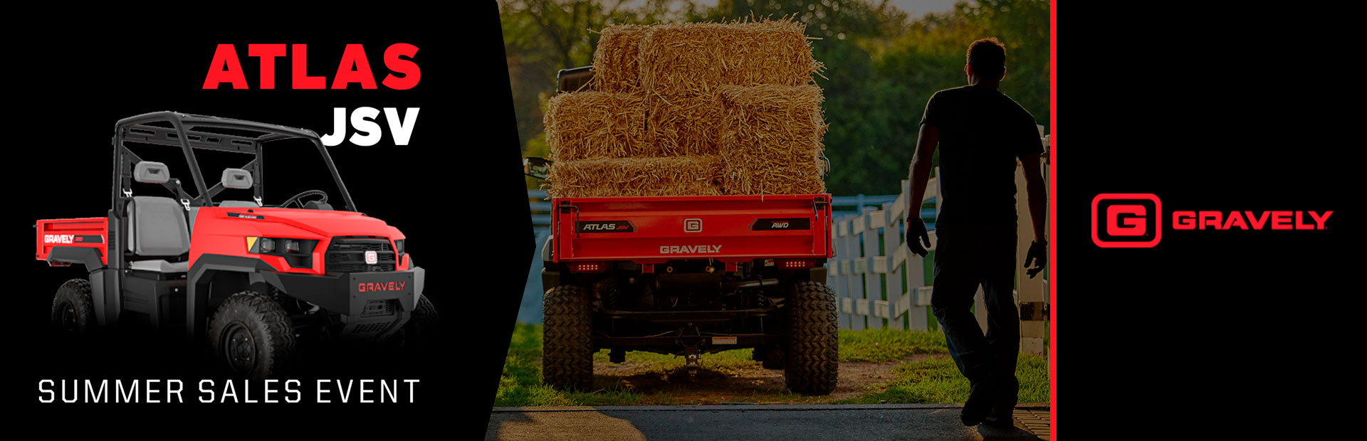 Gravely: THE ATLAS JSV® SUMMER SALES EVENT
