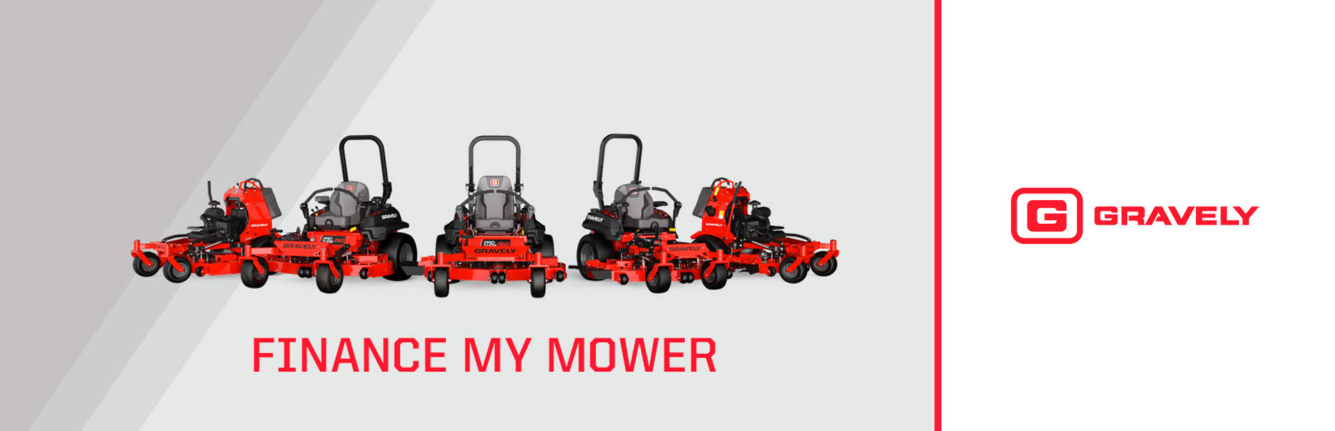 Gravely: FINANCE MY MOWER