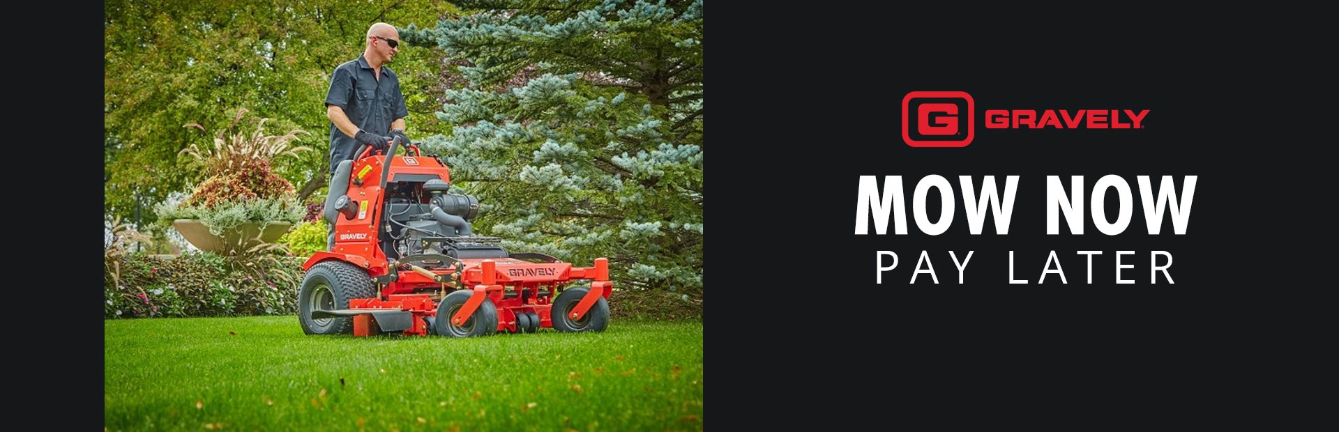 Gravely: Sheffield - Mow Now Pay Later