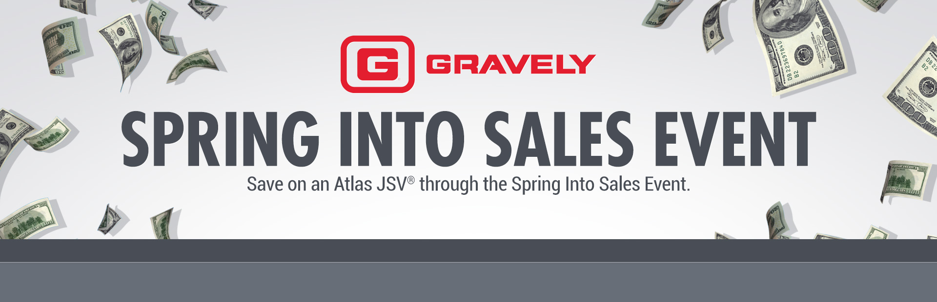 Gravely: Spring Into Sales Event