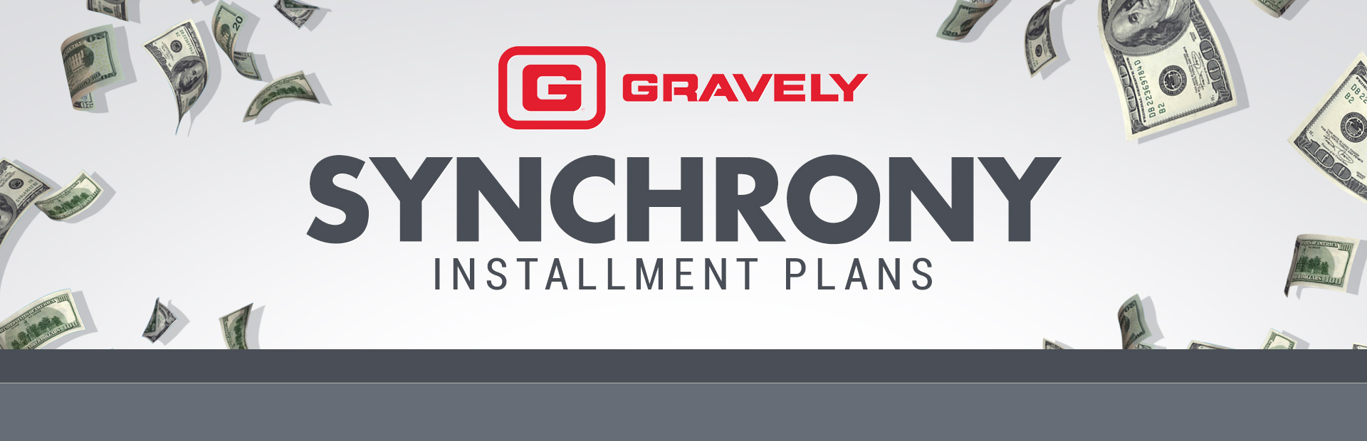 Gravely: Synchrony - Installment Plans