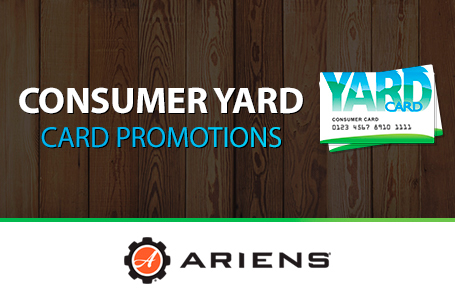 Consumer/Commercial Yard Card Promotions