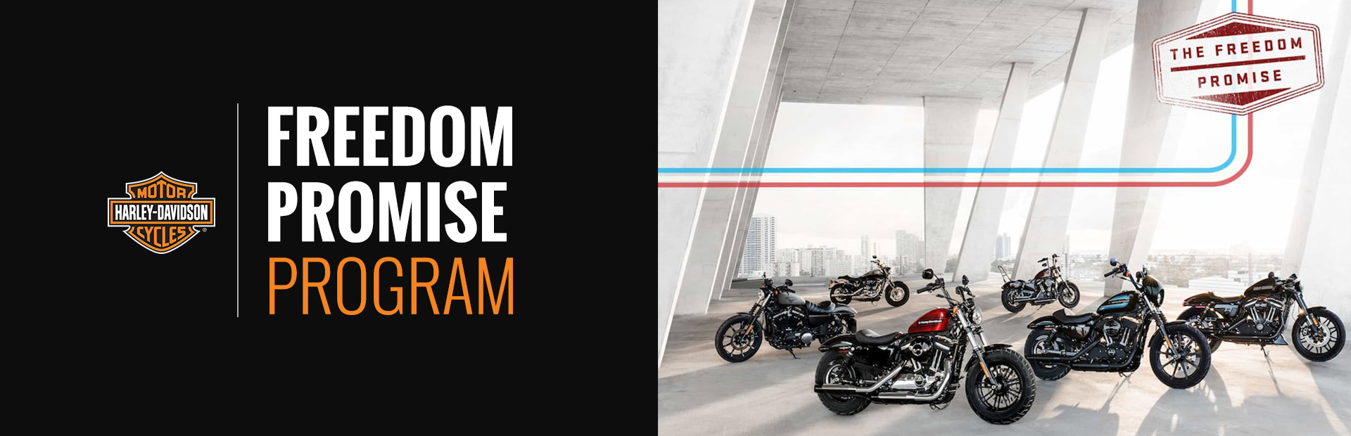 Harley-Davidson®: Freedom Promise Program