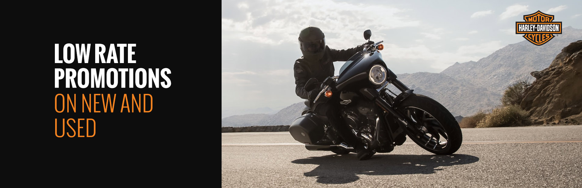 Harley-Davidson®: Low Rate Promotions On New And Used