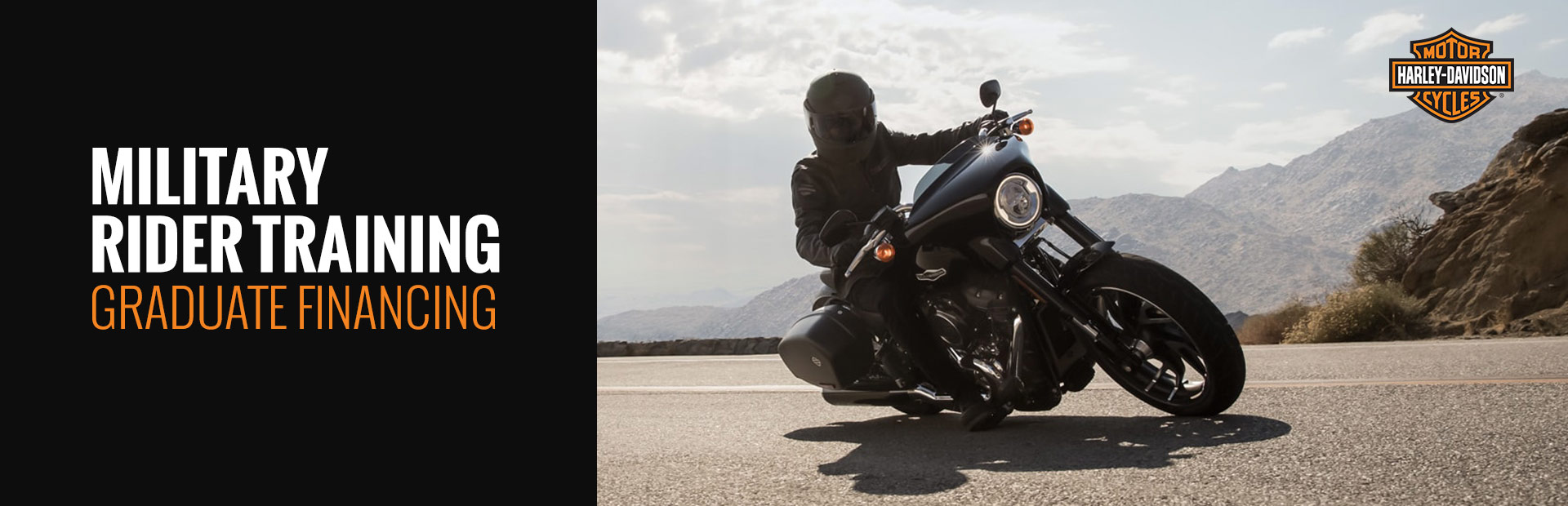 Harley-Davidson®: Military Rider Training Graduate Financing