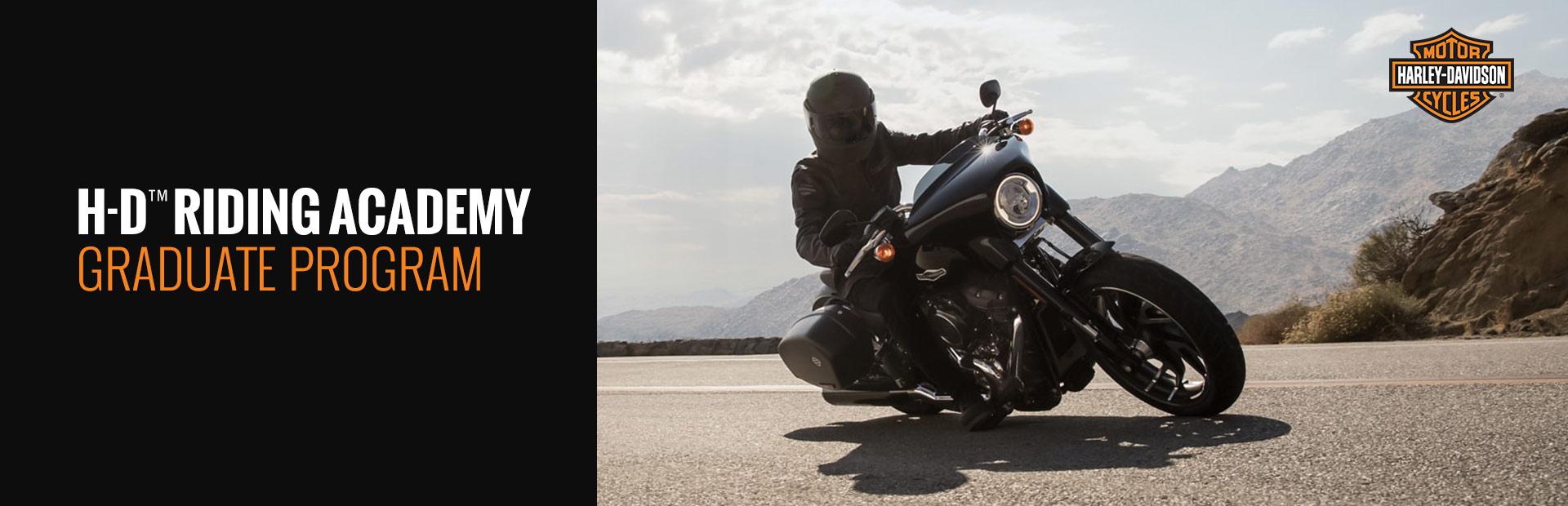 Harley Davidson H D Riding Academy Graduate Program Low Country