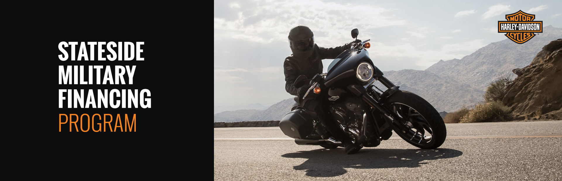 Harley-Davidson®: Stateside Military Financing Program