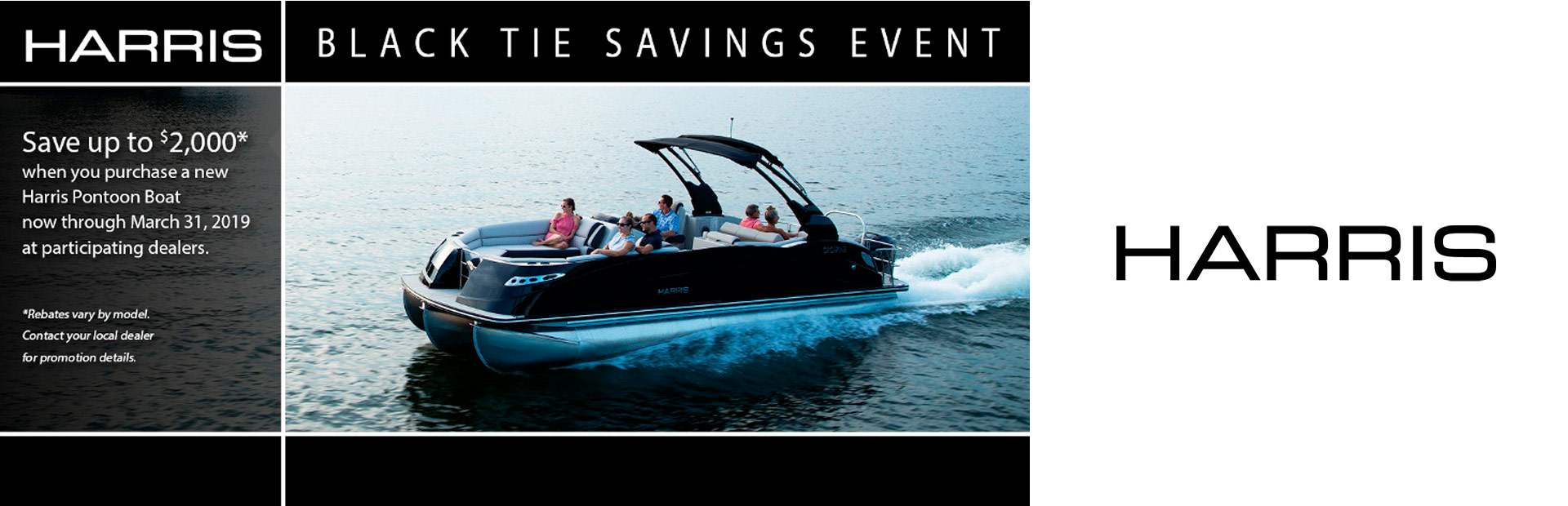 Harris: Black Tie Savings Event