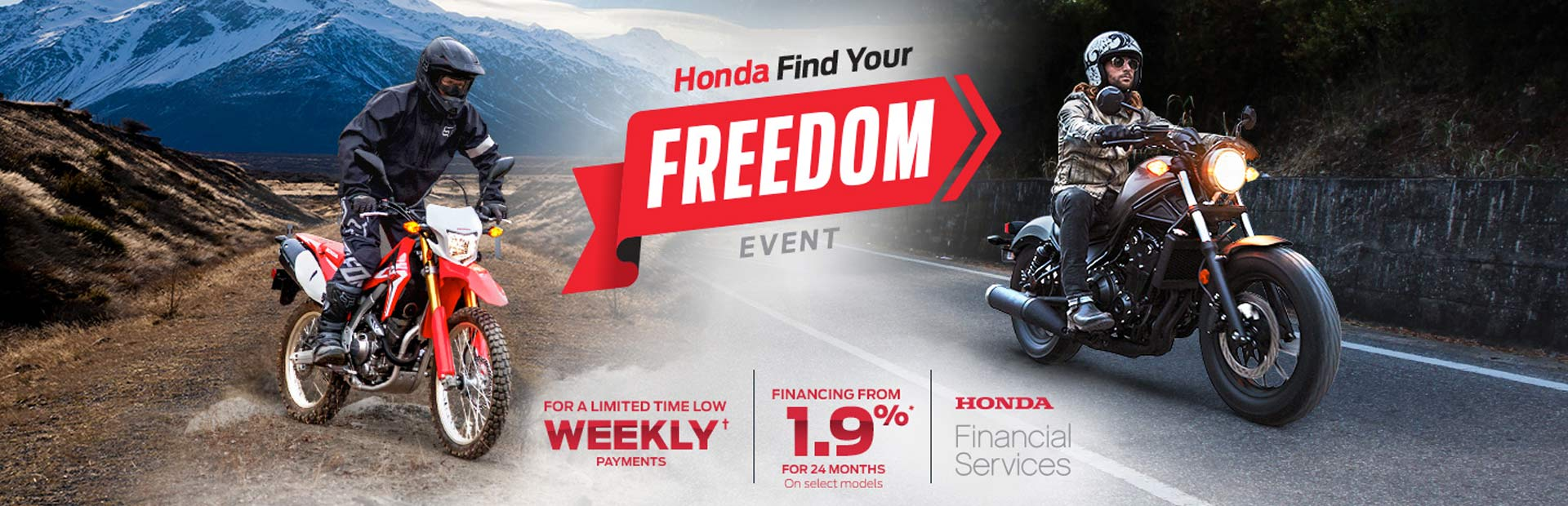 Honda: Find Your Freedom Event