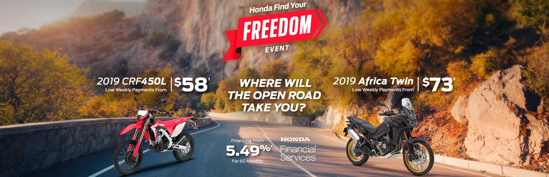 Honda: Honda Find Your Freedom Event