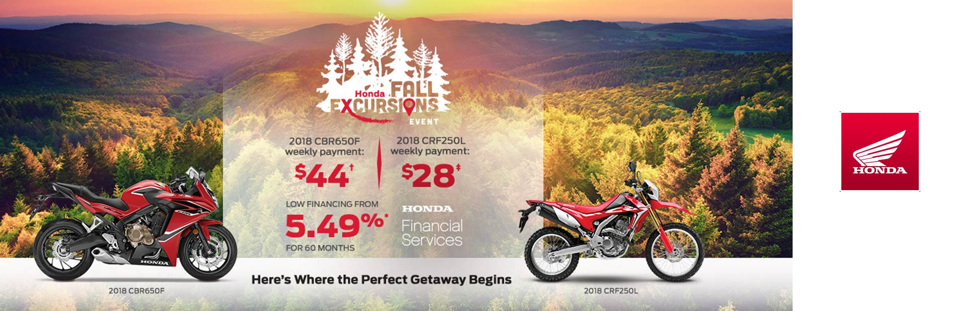 Honda: Honda Fall Excursions Event