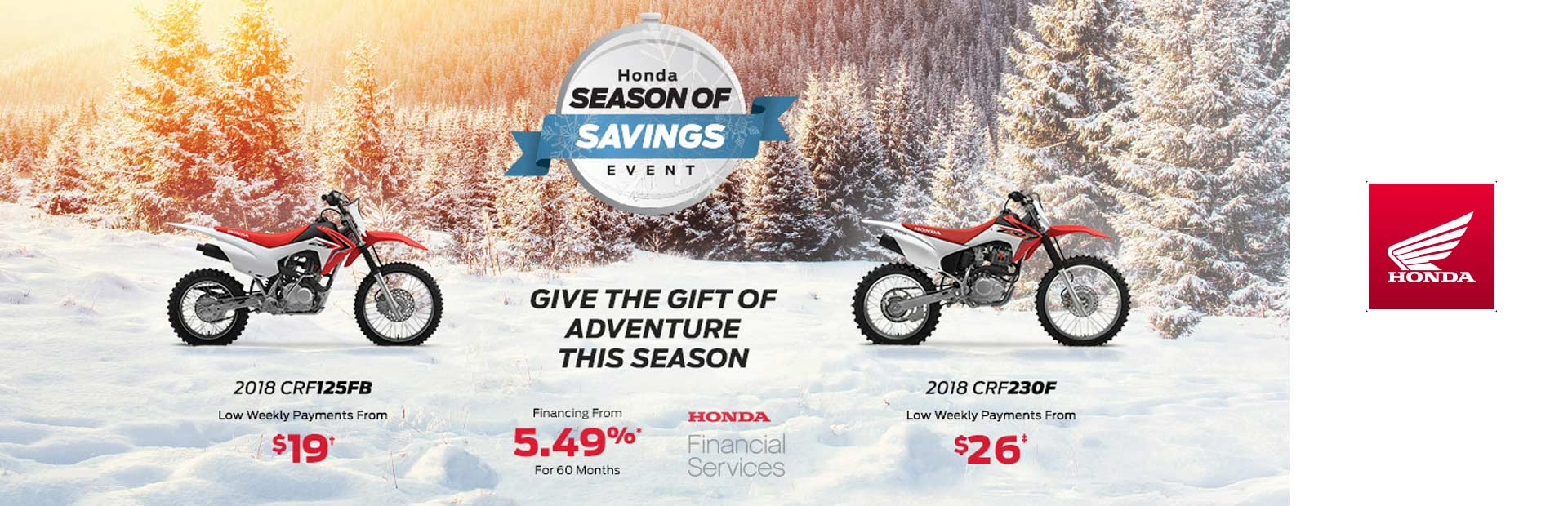 Honda: Season of Savings Event