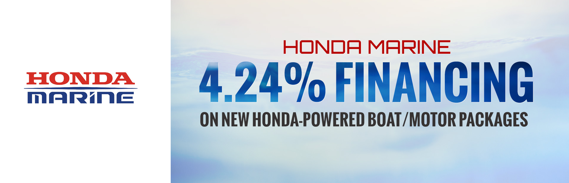 Honda Marine: Honda Marine 4.24% Financing on New Honda-Powered
