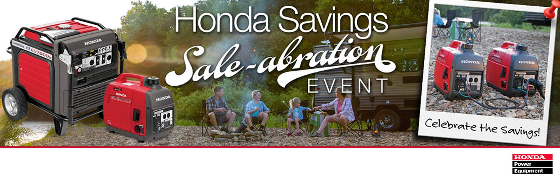 Honda Power Equipment: Honda Savings Sale-abration Event