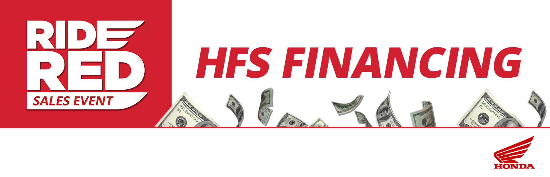 Honda Ride Red Sales Event Hfs Financing Interstate Honda Fort