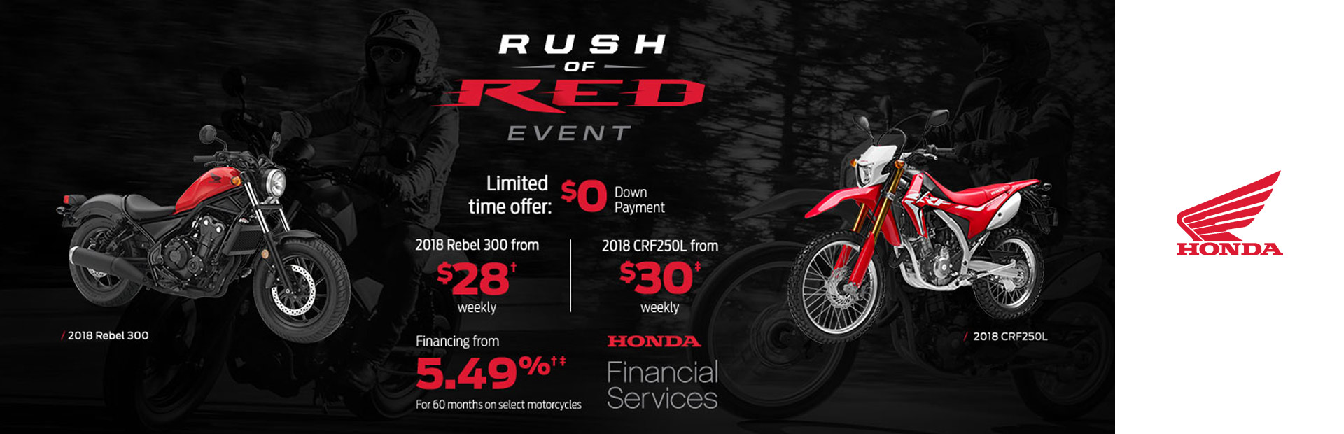 Honda: Rush of Red Event