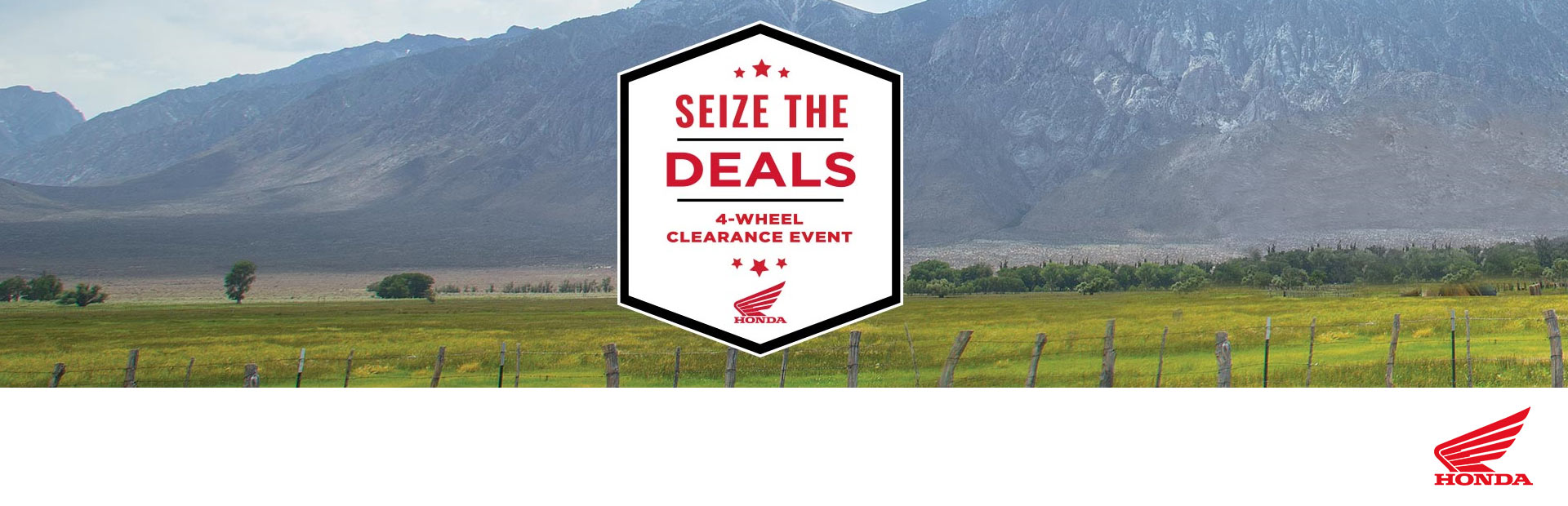 Honda: Seize The Deals - Factory-To-Dealer Incentives
