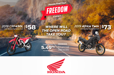 Honda Find Your Freedom Event