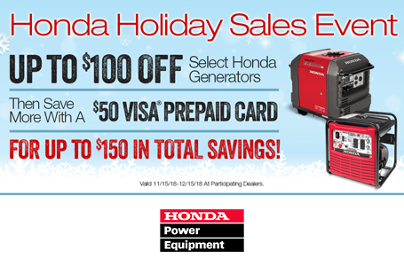 Honda Holiday Sales Event
