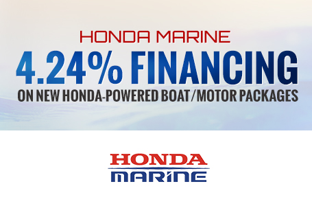 Honda Marine 4.24% Financing on New Honda-Powered