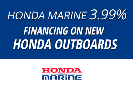 Honda Marine 3.99% Financing on New Honda Outboard