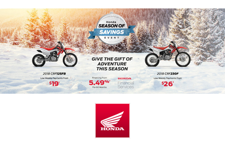 Season of Savings Event - Bikes