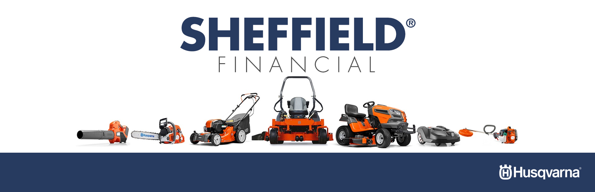 Husqvarna: Sheffield Financial Programs