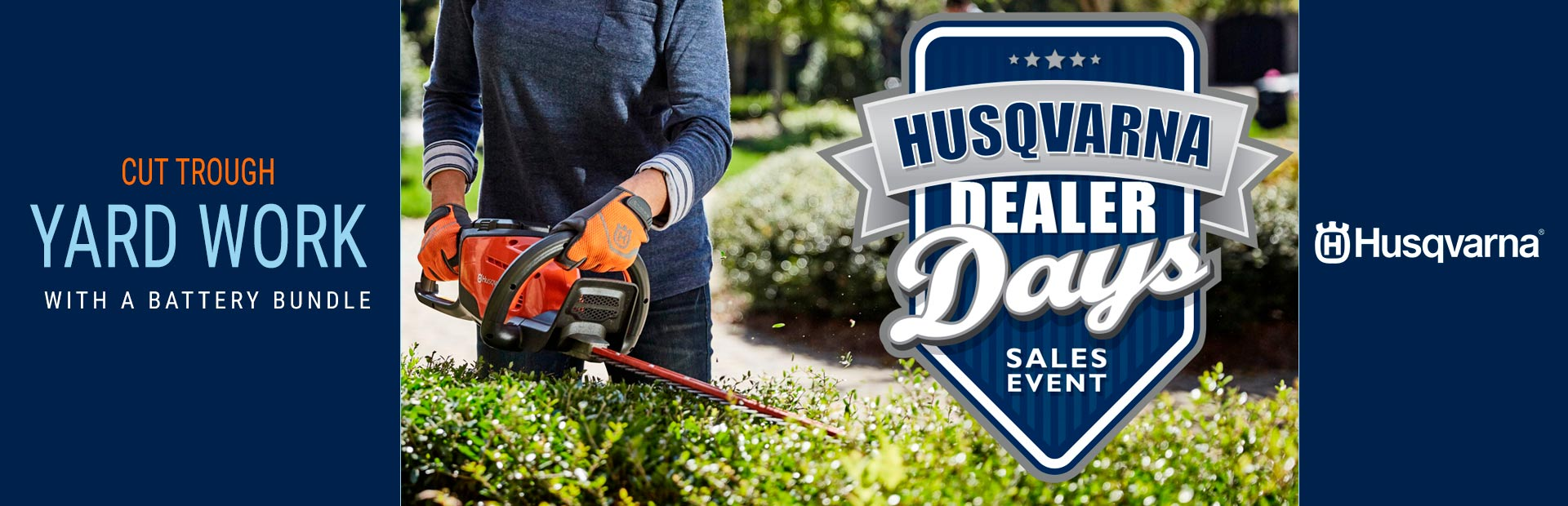 Husqvarna: Cut Through Yard Work With a Battery Bundle