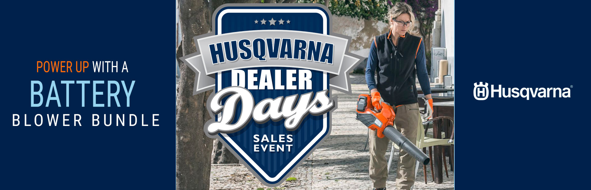 Husqvarna: Power Up With a Battery Blower Bundle