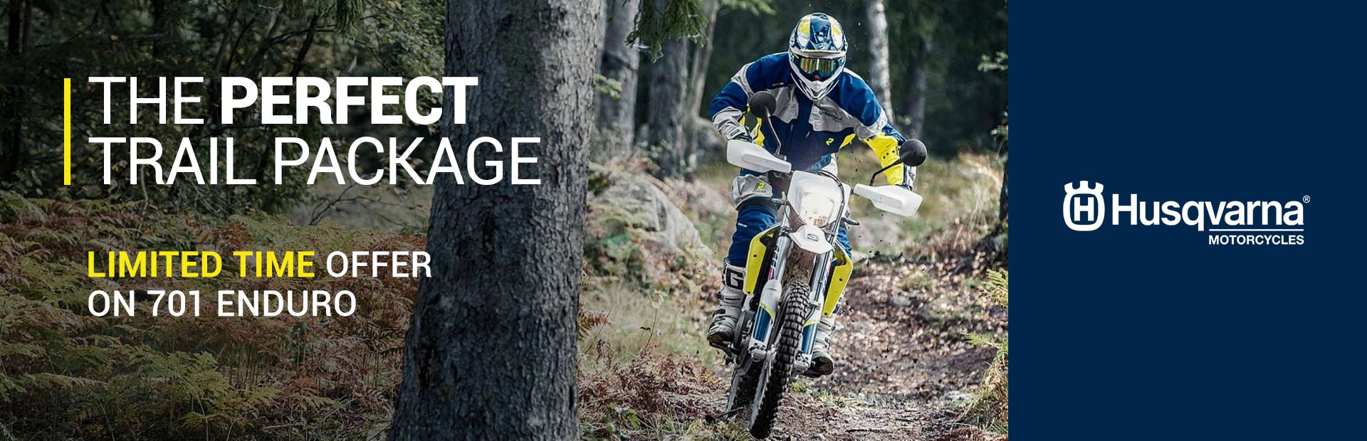 Husqvarna Motorcycles: Limited Time Offer on 701 Enduro
