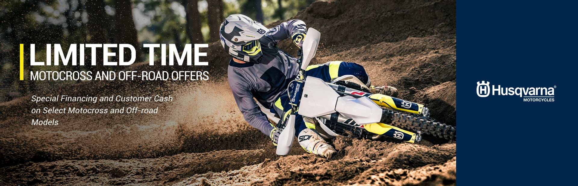 Husqvarna Motorcycles: Limited Time Motocross and Off-Road Offers