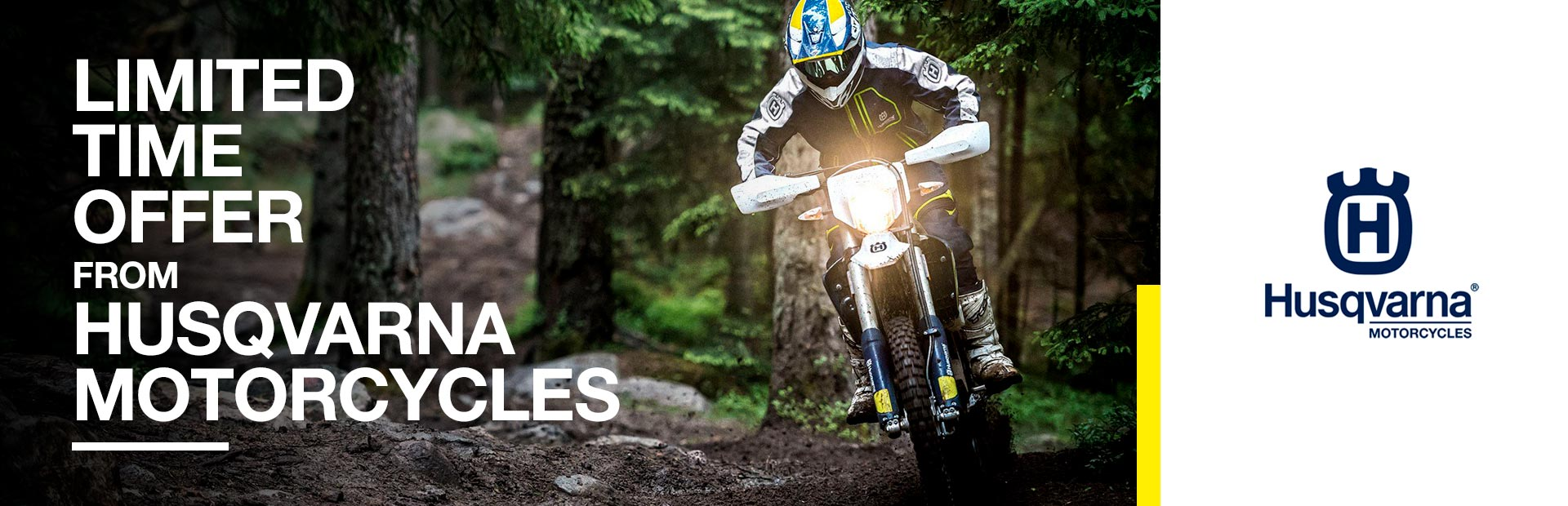 Husqvarna Motorcycles: Limited Time Offer from Husqvarna Motorcycles