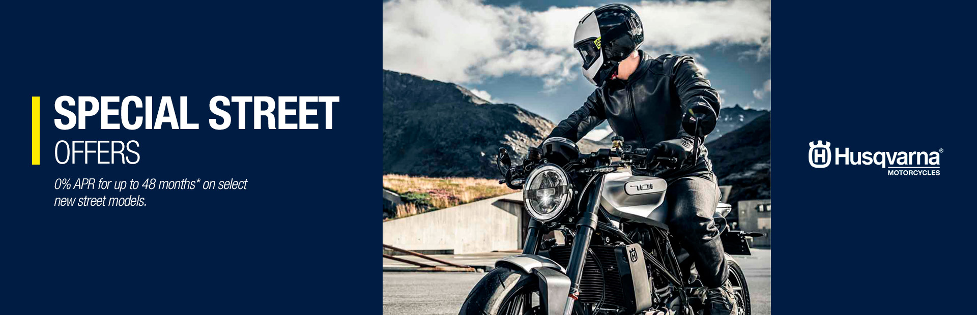 Husqvarna Motorcycles: SPECIAL STREET OFFERS